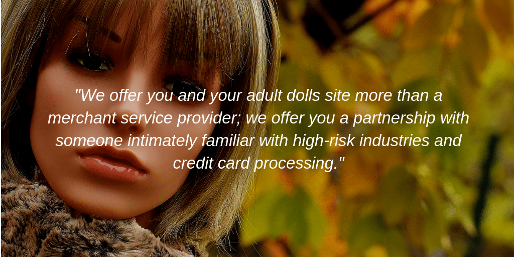 Tower Payments Adult Doll Credit Card Processing Quote Image
